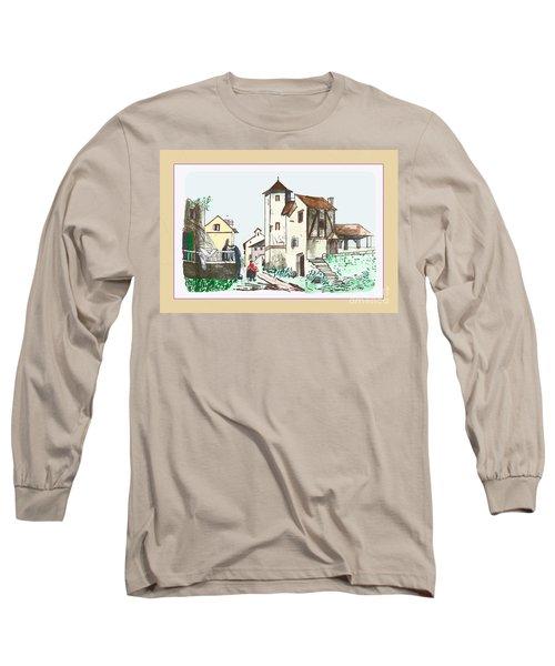 Walk Through Town Long Sleeve T-Shirt