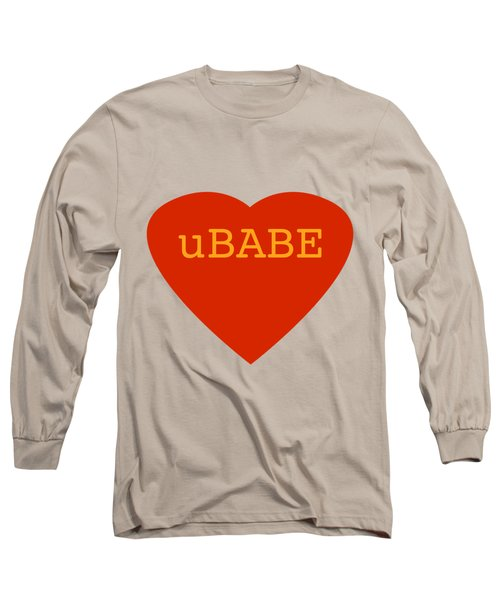 Warm Love Heart Long Sleeve T-Shirt