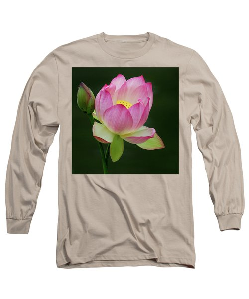 Water Lily In The Pond Long Sleeve T-Shirt