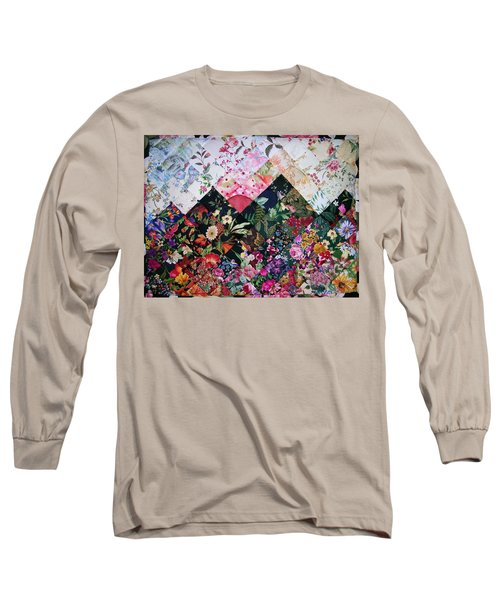 Watercolor Sunset Long Sleeve T-Shirt