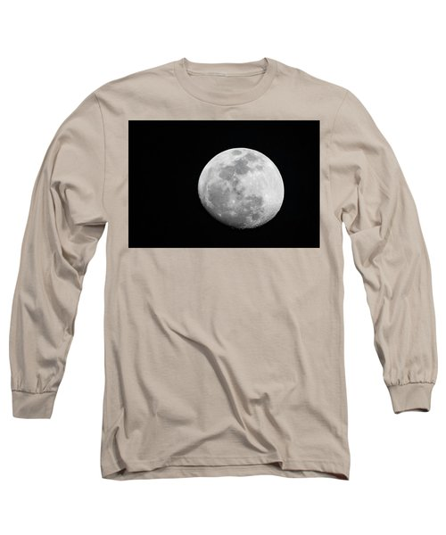Waxing Gibbous Long Sleeve T-Shirt