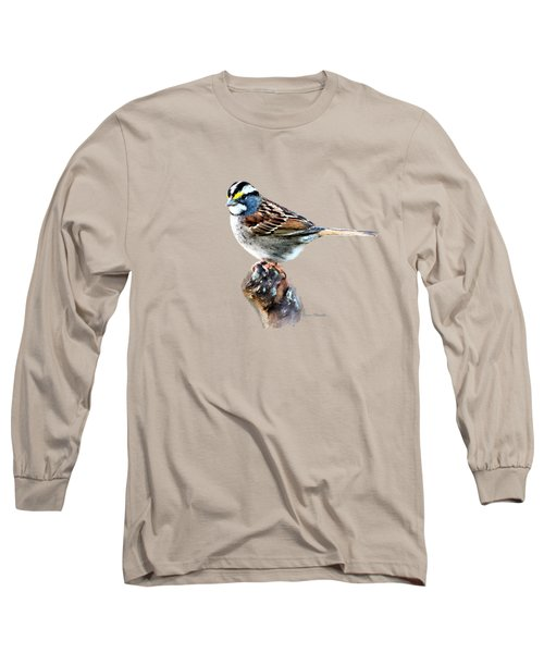 White-throated Sparrow Long Sleeve T-Shirt