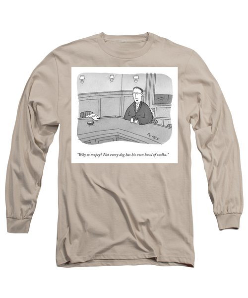 Why So Mopey? Long Sleeve T-Shirt