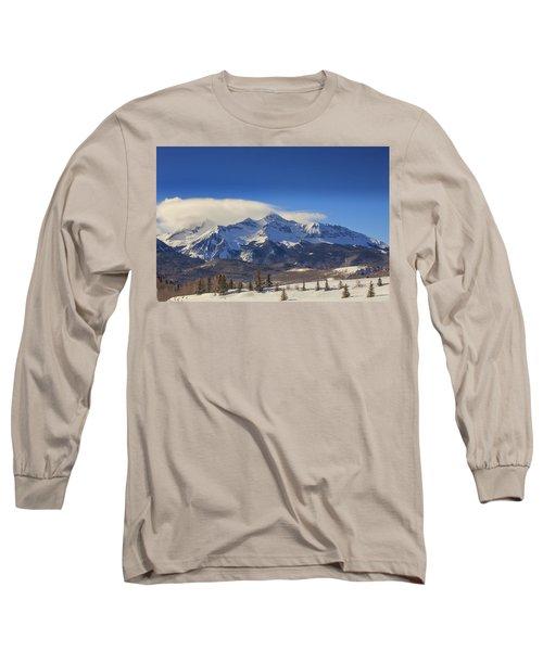Wilson Peak In All It's Winter Glory Long Sleeve T-Shirt