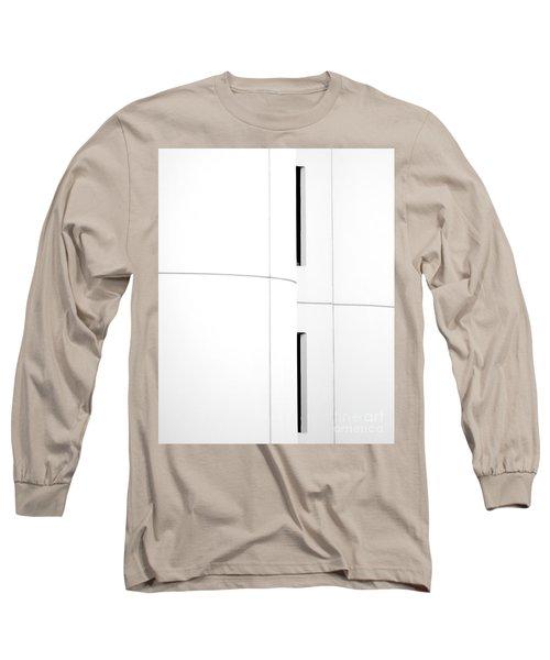Window Abstract Long Sleeve T-Shirt