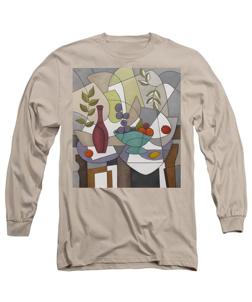 Wine And Fruit Long Sleeve T-Shirt