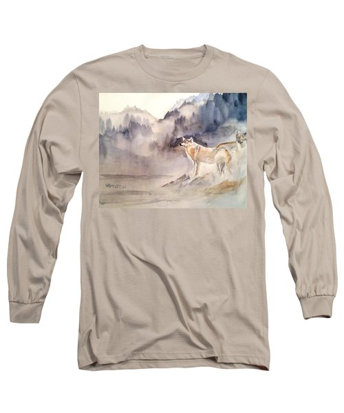 Wolves On Guard Long Sleeve T-Shirt