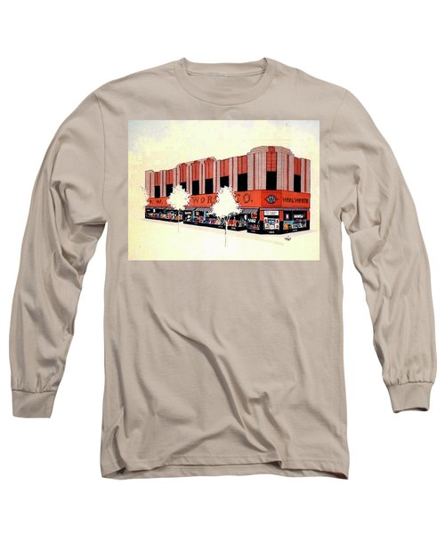 Woolworth On Market St. Long Sleeve T-Shirt