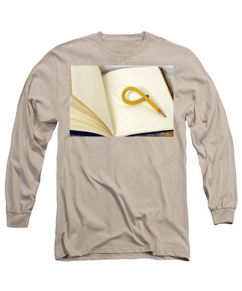 Writers Block Long Sleeve T-Shirt