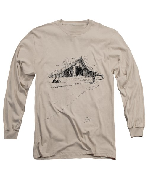 Yard-work On The Farm Long Sleeve T-Shirt