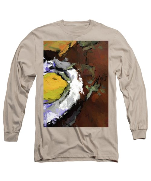 Yellow Lemon In The Bowl Long Sleeve T-Shirt