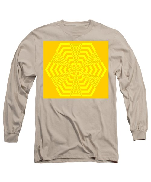 Young At Heart Yellow Long Sleeve T-Shirt