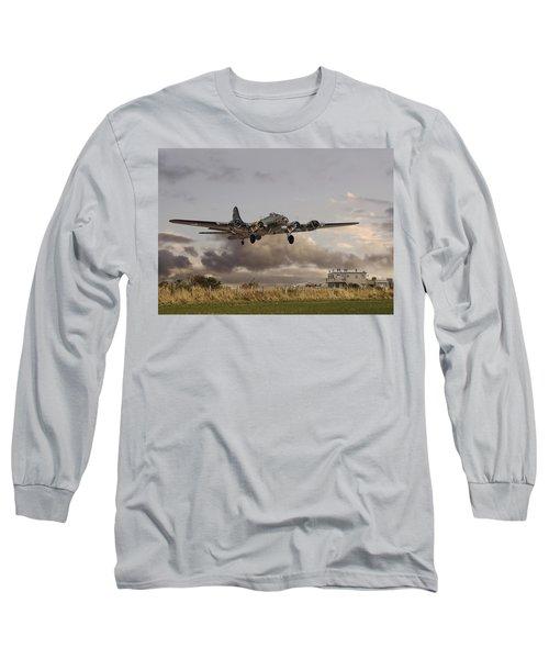B17- 'airborne' Long Sleeve T-Shirt