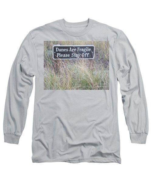 Long Sleeve T-Shirt featuring the photograph Sand Dune  by Eunice Miller