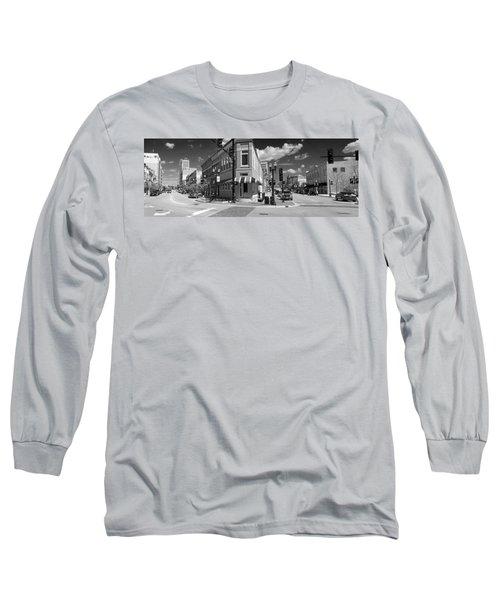 0465 Elgin Illinois Panoramic Long Sleeve T-Shirt