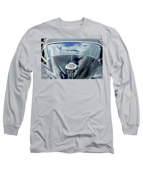 1967 Chevrolet Corvette Rear Emblem Long Sleeve T-Shirt