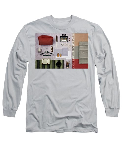 A Group Of Household Objects Long Sleeve T-Shirt