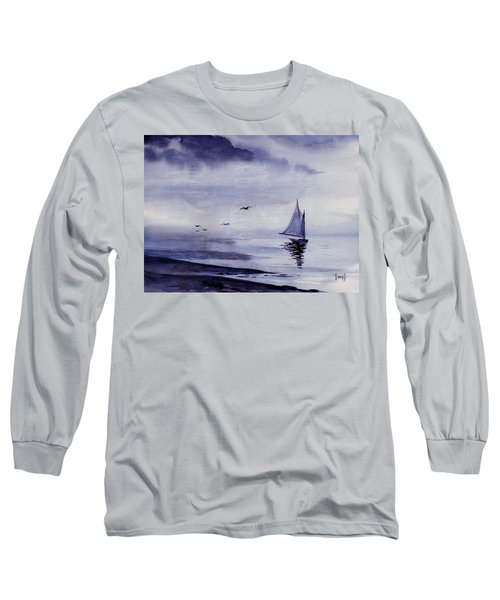 Boat Long Sleeve T-Shirt by Sam Sidders
