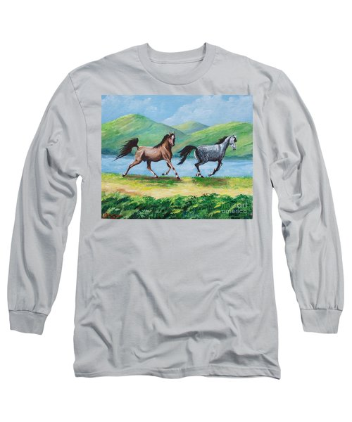 Colt And Mare Long Sleeve T-Shirt