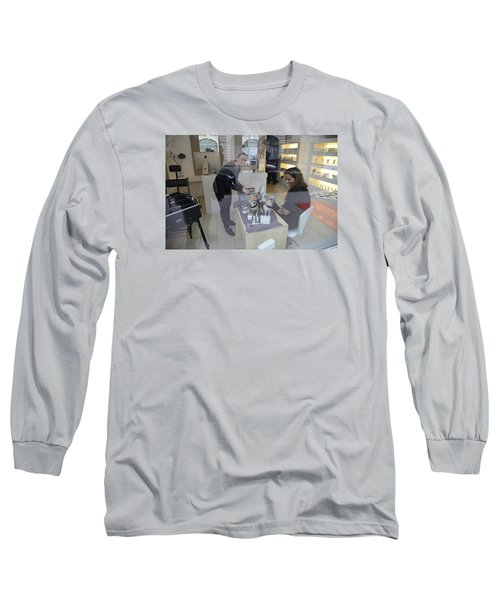 Long Sleeve T-Shirt featuring the photograph Dog And True Friendship 8 by Teo SITCHET-KANDA