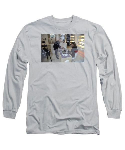 Dog And True Friendship 8 Long Sleeve T-Shirt by Teo SITCHET-KANDA