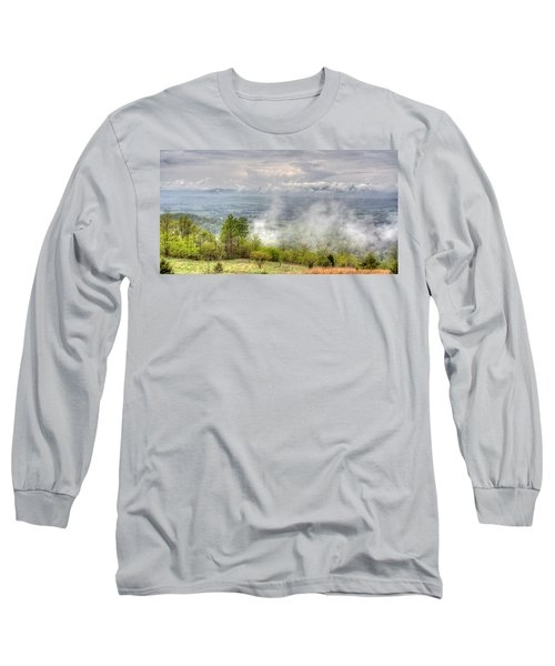 Dunlap Valley Long Sleeve T-Shirt by David Troxel