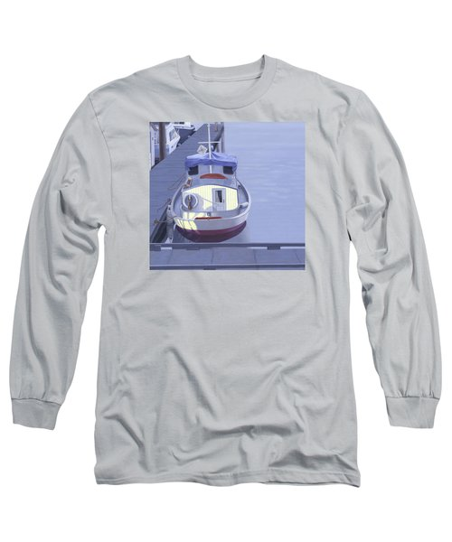 Long Sleeve T-Shirt featuring the painting Evening At Port Hardy by Gary Giacomelli