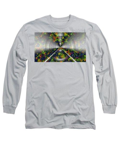 Fire Cloud Long Sleeve T-Shirt