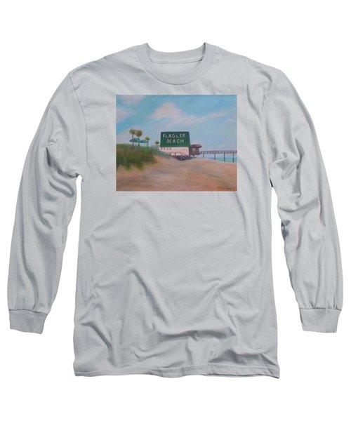 Flagler Beach Florida Long Sleeve T-Shirt