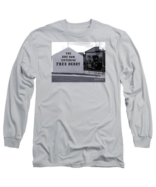 Free Derry Corner Long Sleeve T-Shirt by Nina Ficur Feenan