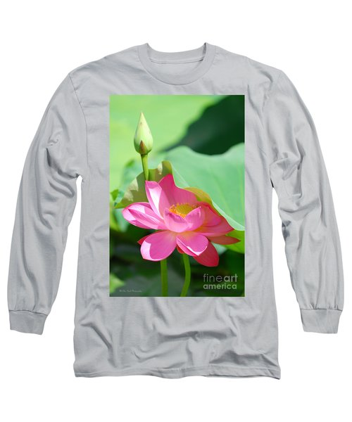 D48l-96 Water Lily At Goodale Park Photo Long Sleeve T-Shirt