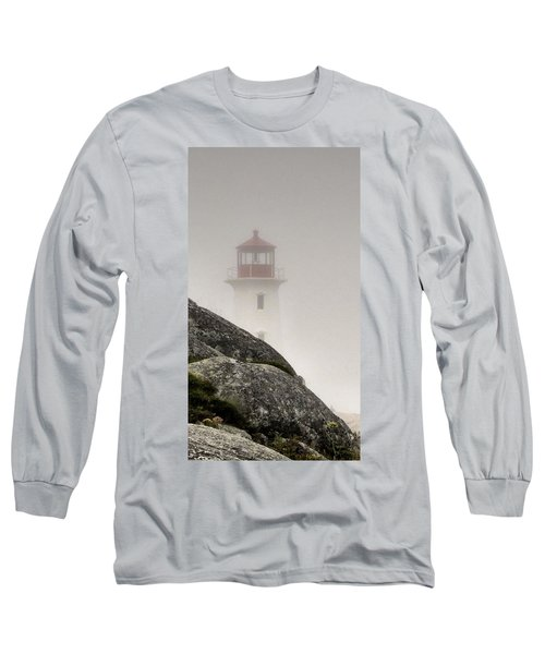 Halifax Fog Long Sleeve T-Shirt by Jennifer Wheatley Wolf