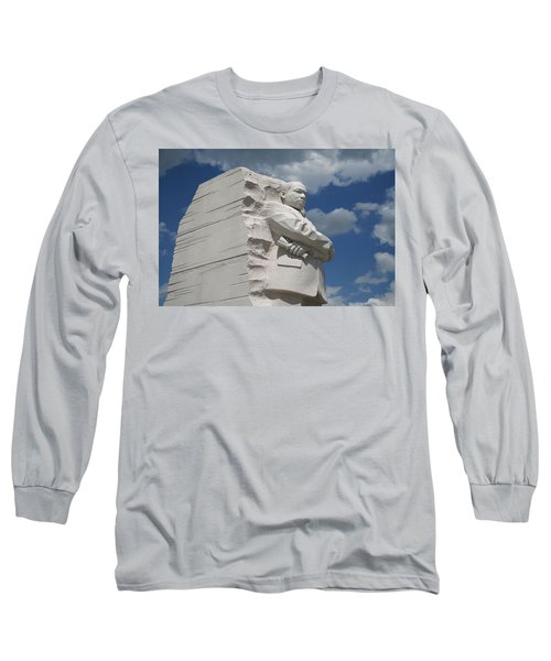 Long Sleeve T-Shirt featuring the photograph Honoring Martin Luther King by Cora Wandel