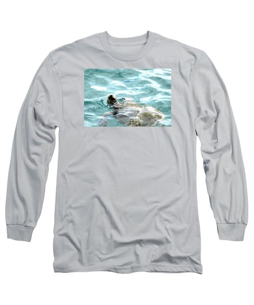 Kamakahonu, The Eye Of The Honu  Long Sleeve T-Shirt