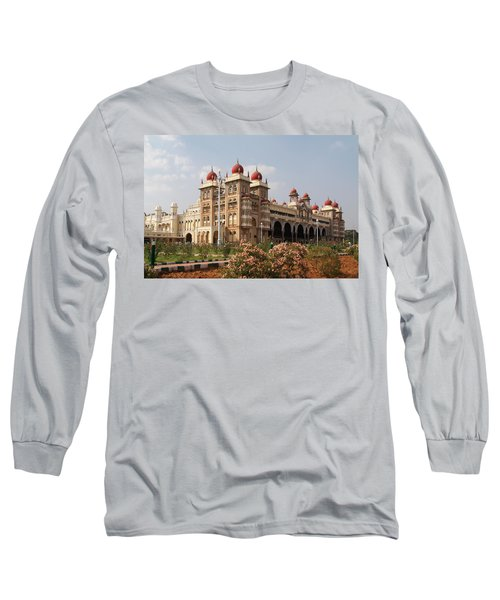 Maharaja's Palace And Garden India Mysore Long Sleeve T-Shirt