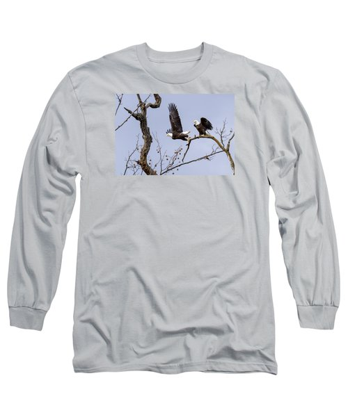 Majestic Beauty  Long Sleeve T-Shirt by David Lester