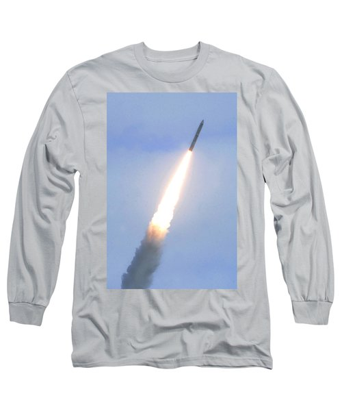 Minotaur Iv Lite Launch Long Sleeve T-Shirt by Science Source