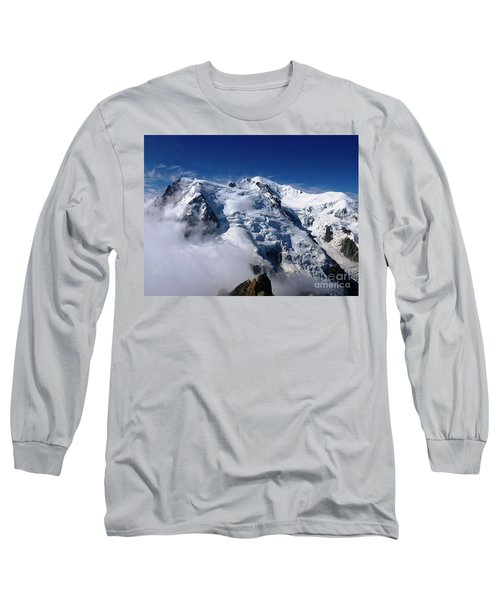 Mont Blanc - France Long Sleeve T-Shirt