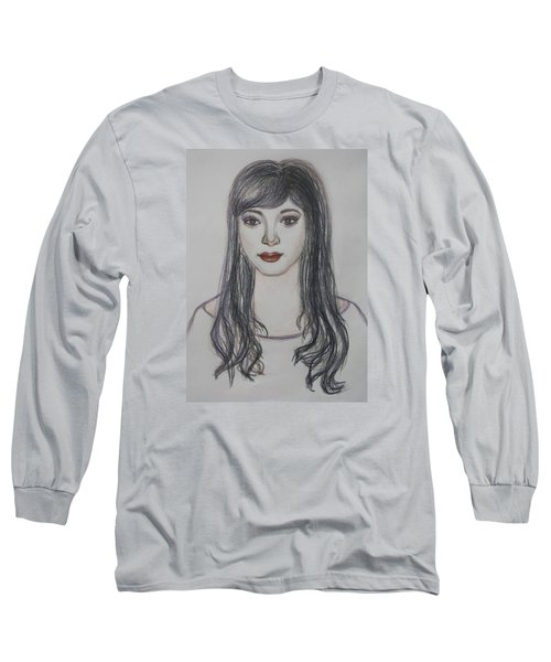 The Oriental Girl   Long Sleeve T-Shirt