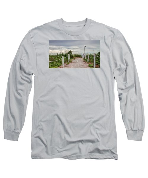 Pathway To The Beach Long Sleeve T-Shirt