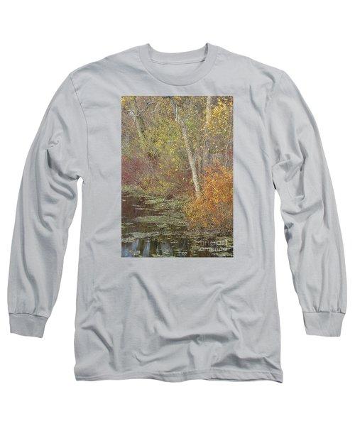 Pondside Pastel Long Sleeve T-Shirt by Ann Horn