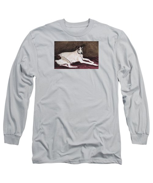 Resting Gracefully Long Sleeve T-Shirt by Angela Davies