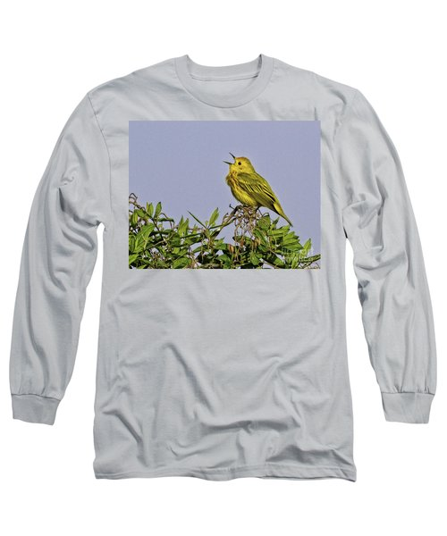 Singing Long Sleeve T-Shirt