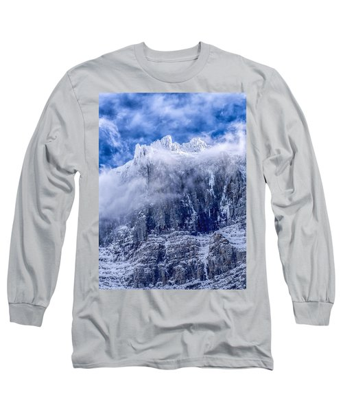 Long Sleeve T-Shirt featuring the photograph Stone Cold by Aaron Aldrich