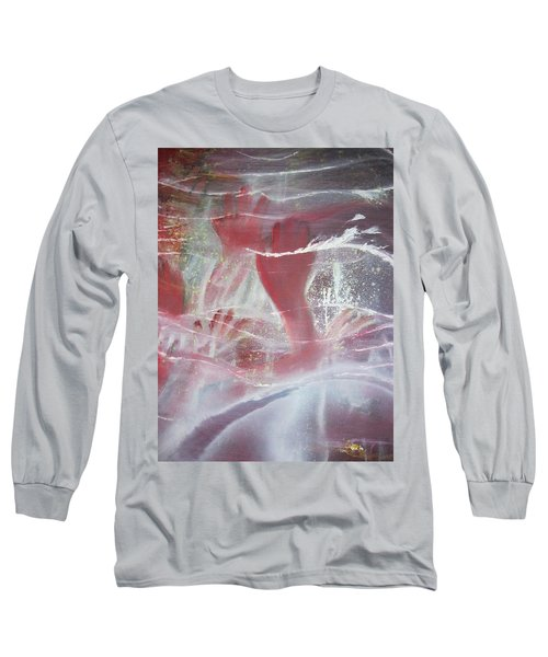 String Theory - Praise Long Sleeve T-Shirt by Carrie Maurer