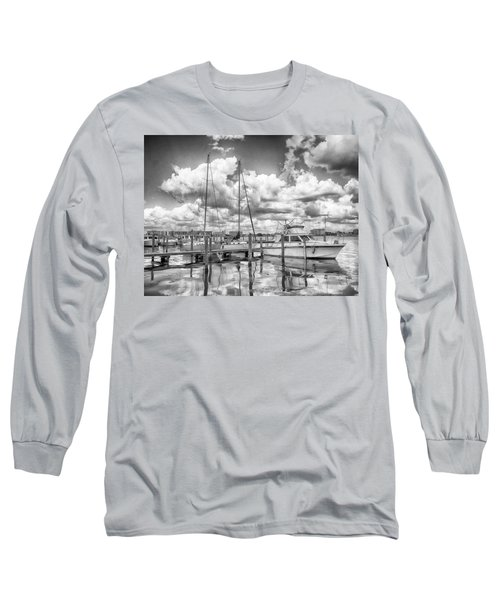 The Boat Long Sleeve T-Shirt by Howard Salmon