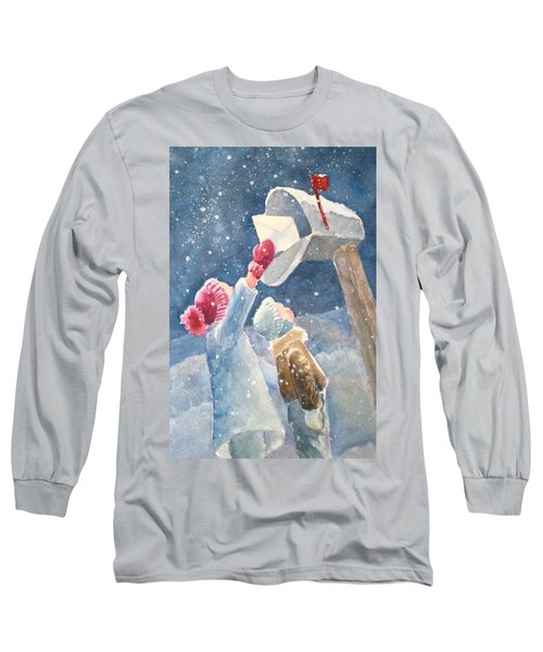 The Letter Long Sleeve T-Shirt by Marilyn Jacobson