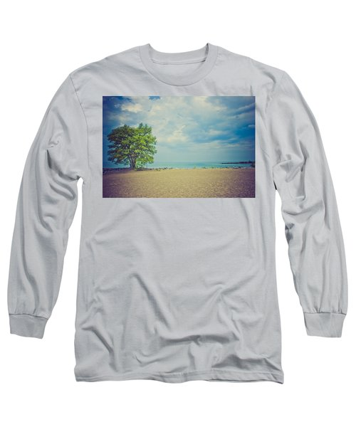 Tranquility Long Sleeve T-Shirt by Sara Frank