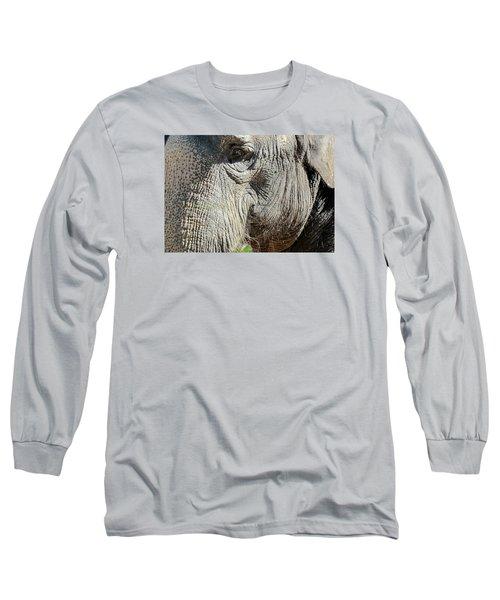 Wise One,elephant  Long Sleeve T-Shirt