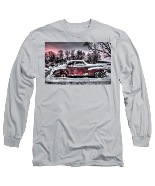 1940 Chevy Long Sleeve T-Shirt by Ray Congrove